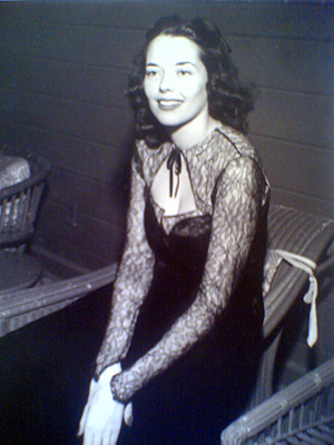 My mom Toto as a teen